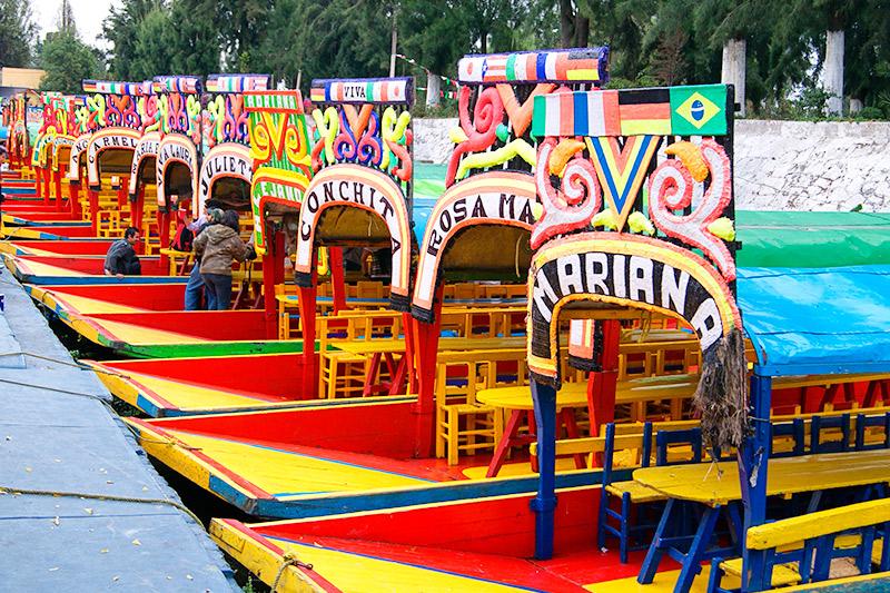Xochimilco y las trajineras
