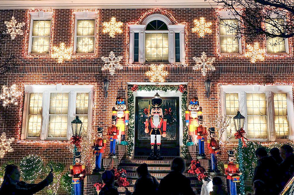 Navidad neoyorkina en Dyker Heights