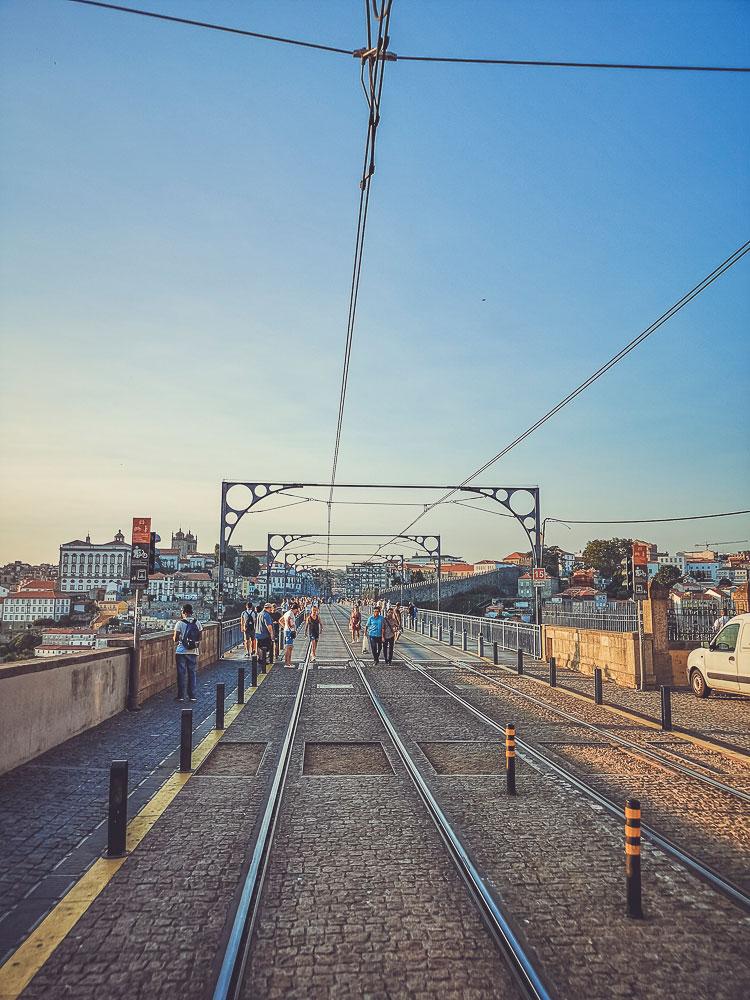 puente de Don Luis I hacia Vila Nova de Gaia