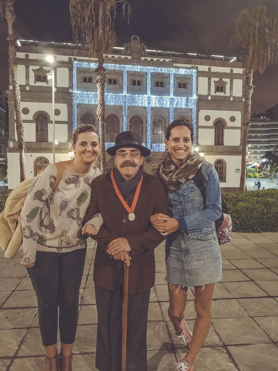 Conocer el centro histórico de Las Palmas con Don Benito Pérez Galdós