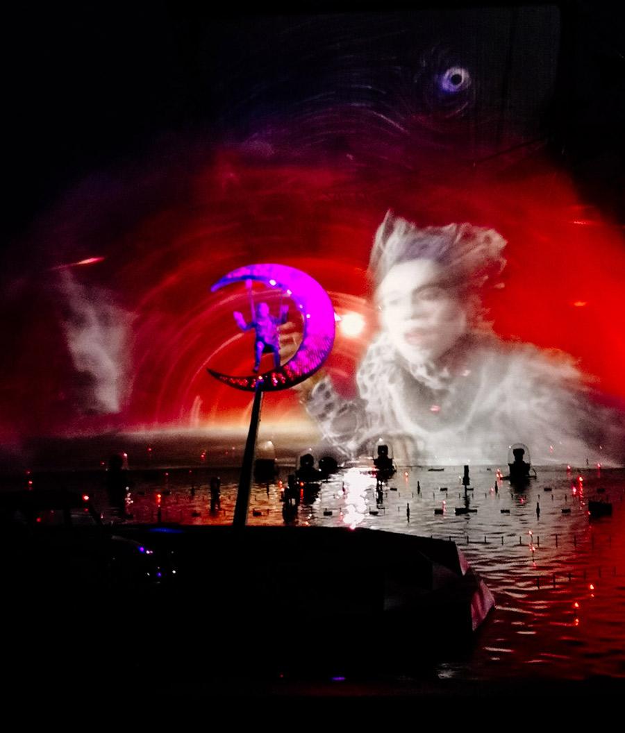 Espectáculo del Circo du Soleil en Futuroscope