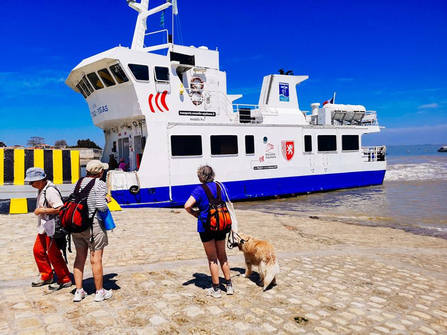 Ferry a la isla de Aix