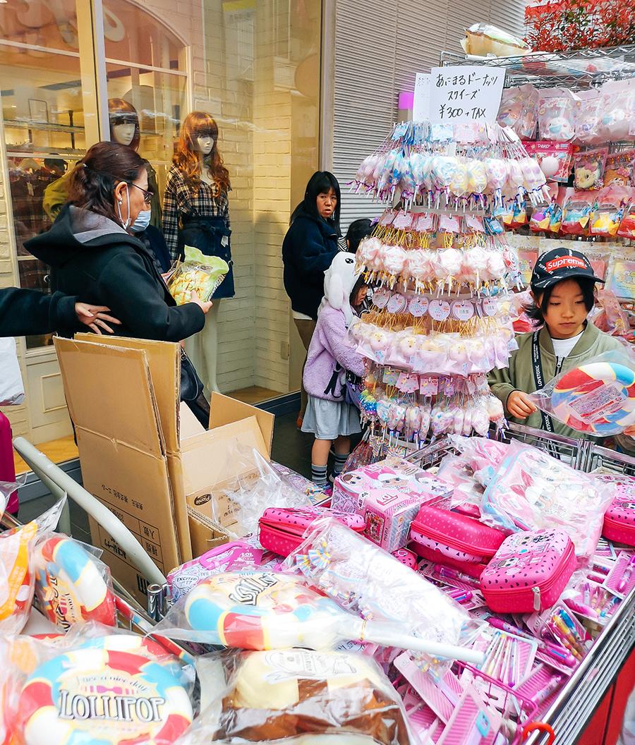 Takeshita Street en Tokio