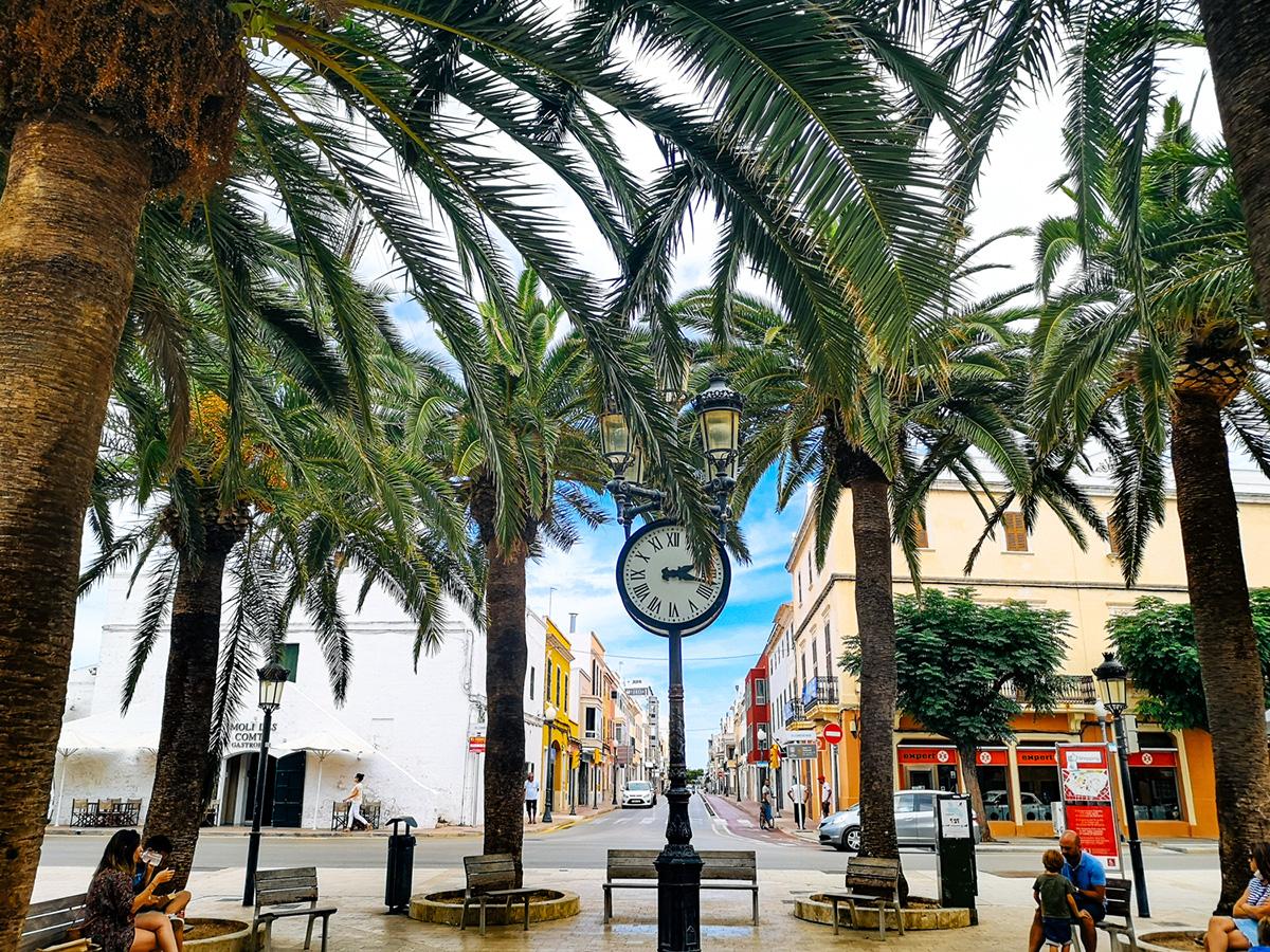 Centro histórico de Ciudadella