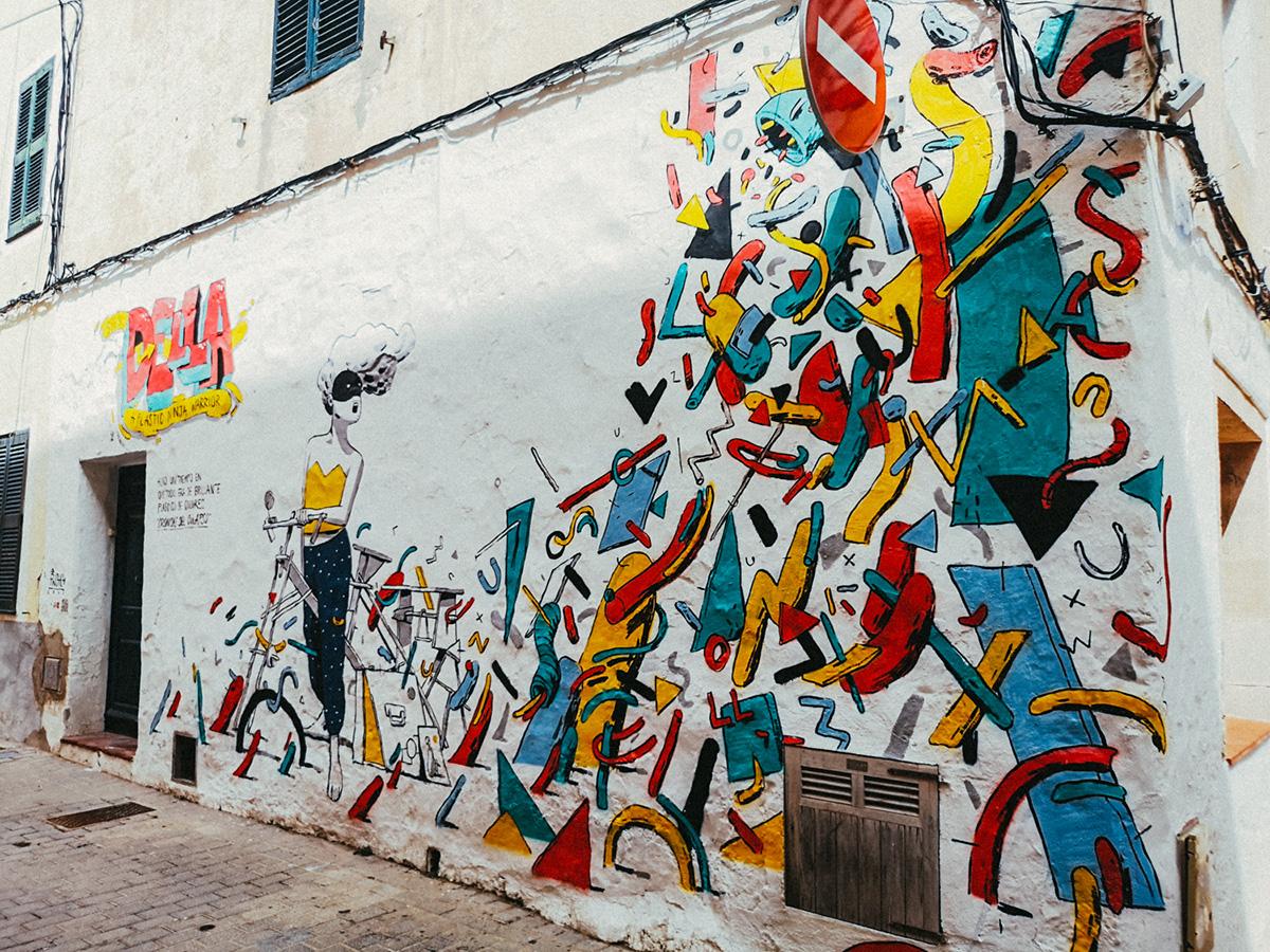 Street art en Ciudadella