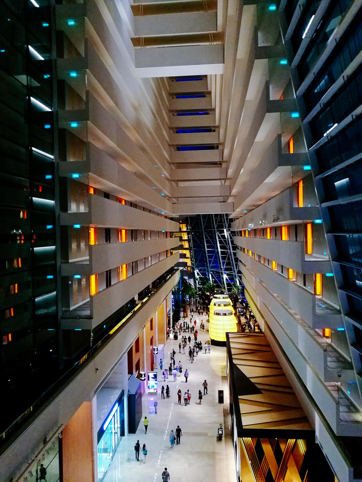 Interior del Marina Bay Sands